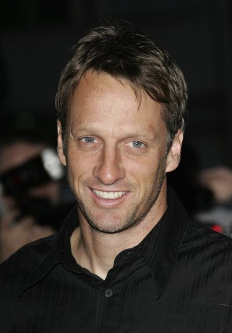 Tony Hawk at the premiere of
