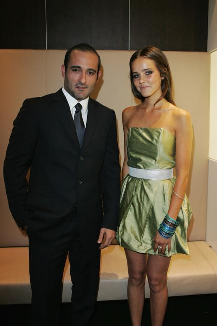 Akshaye Khanna and Isabel Lucas at the Australian Indian Film Festival Gala Night.