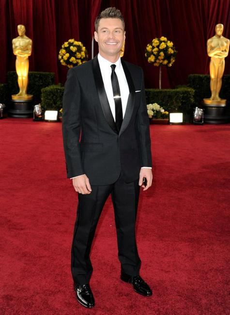 Ryan Seacrest at the 82nd Annual Academy Awards.