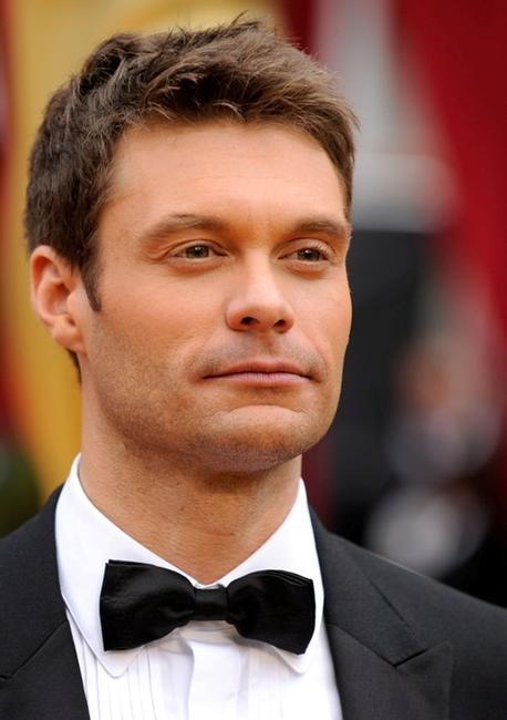 Ryan Seacrest at the 81st Annual Academy Awards.