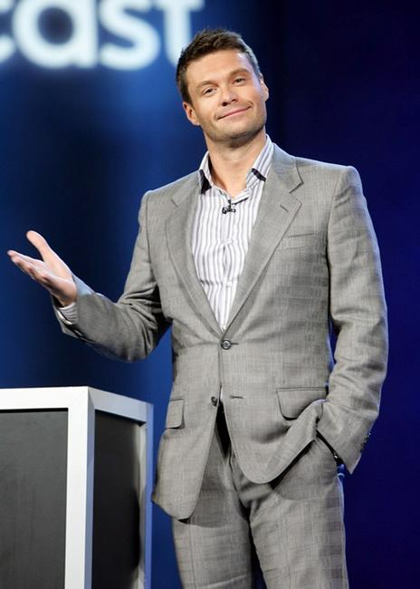 Ryan Seacrest at the 2008 International Consumer Electronics Show.