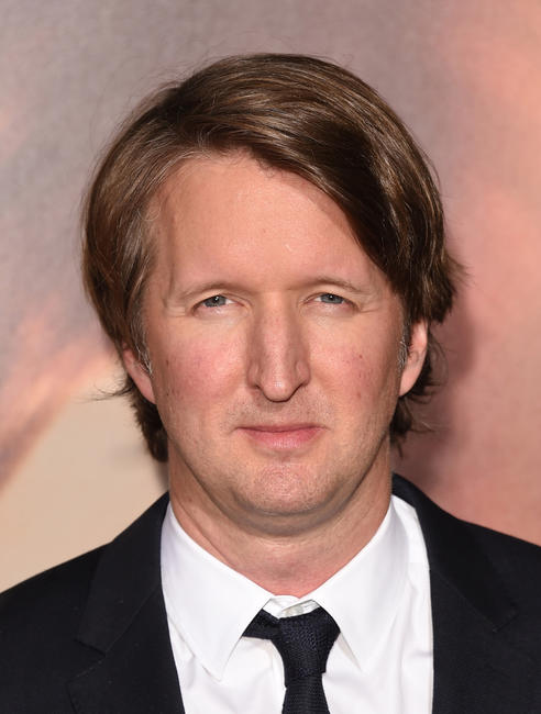 Director Tom Hooper at the California premiere of