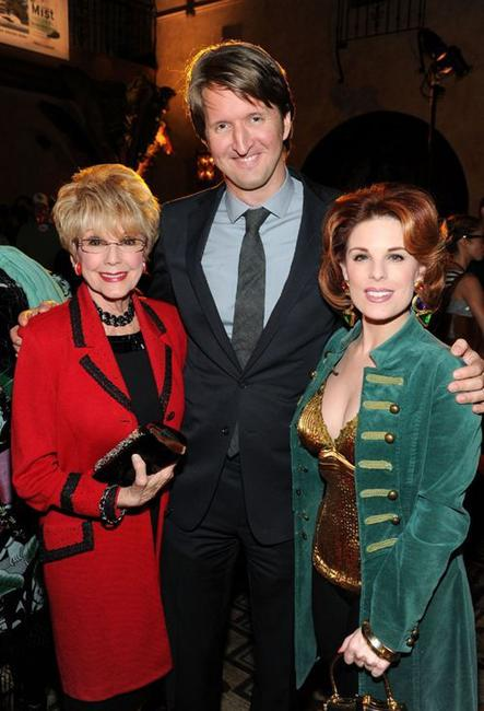 Karen Kramer, Tom Hooper and Kat Kramer at the after party of