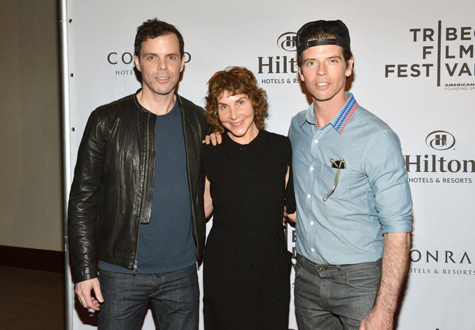Alex Manette, Julie Kling and Michael Scalisi at the TFF Awards night during the 2013 Tribeca Film Festival.