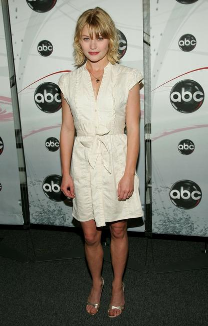 Emilie de Ravin at the ABC Upfront presentation.