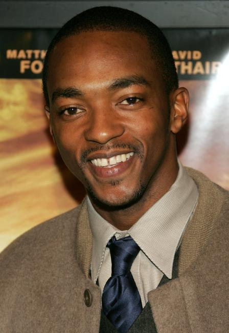 Anthony Mackie at the premiere of