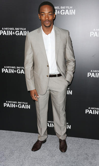 Anthony Mackie at the California premiere of