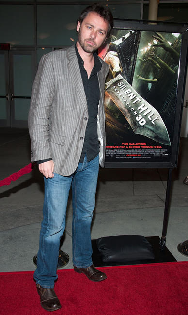Director Michael J. Bassett at the California premiere of
