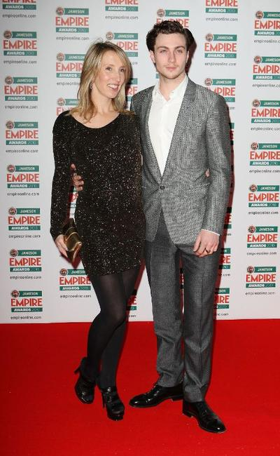 Sam Taylor-Wood and Aaron Johnson at the Jameson Empire Film Awards.