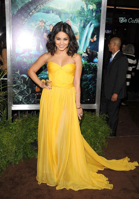 Vanessa Hudgens at the California premiere of