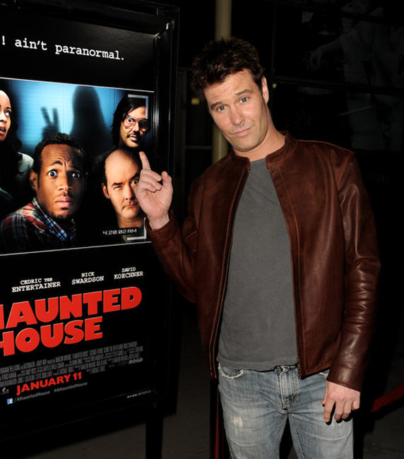 Dave Sheridan at the California premiere of