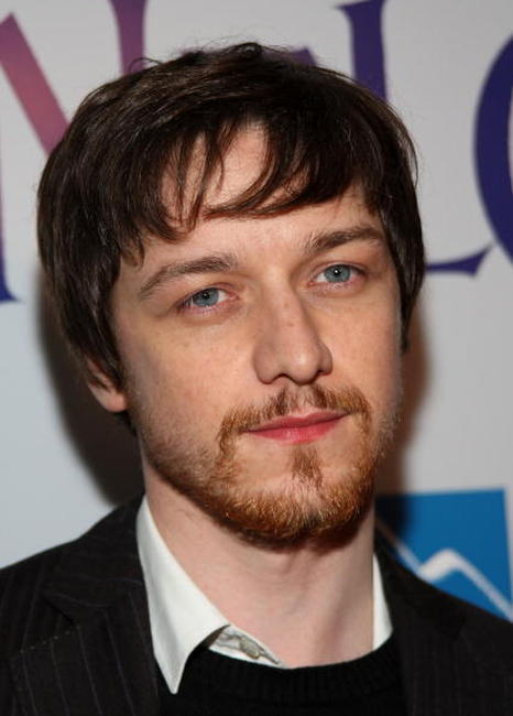 Actor James McAvoy at the L.A. premiere of
