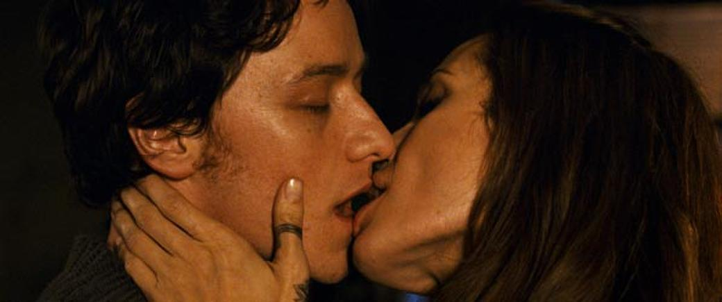 James McAvoy and Angelina Jolie in