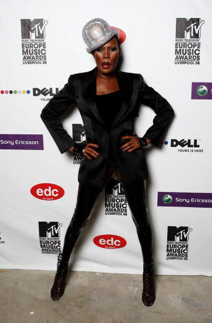 Grace Jones at the 2008 MTV Europe Music Awards.