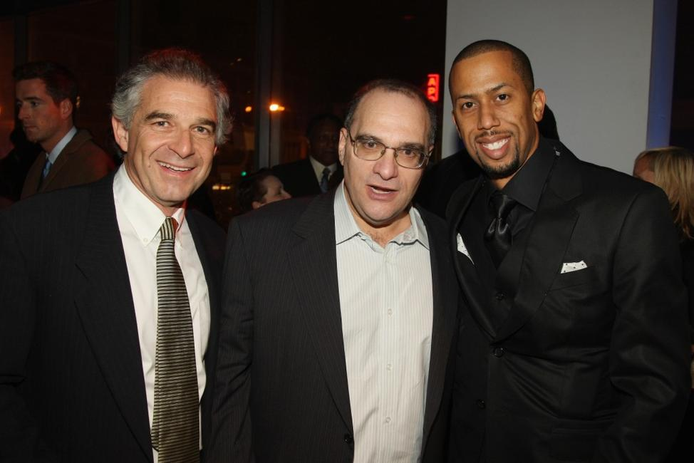 Producer Charles Castaldi, Producer Bob Weinstein and Affion Crockett at the after party of the premiere of