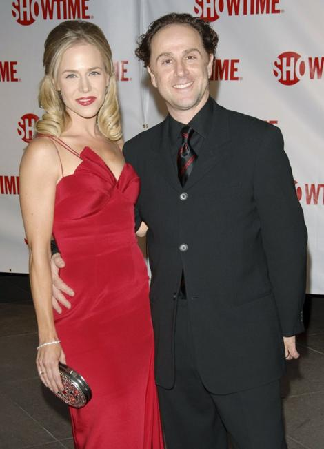 Julie Benz and John Kassir at the premiere of