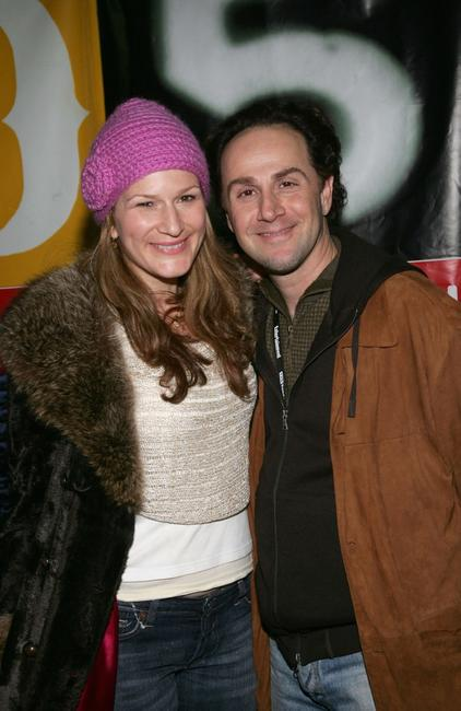 Ana Gasteyer and John Kassir at the premiere of