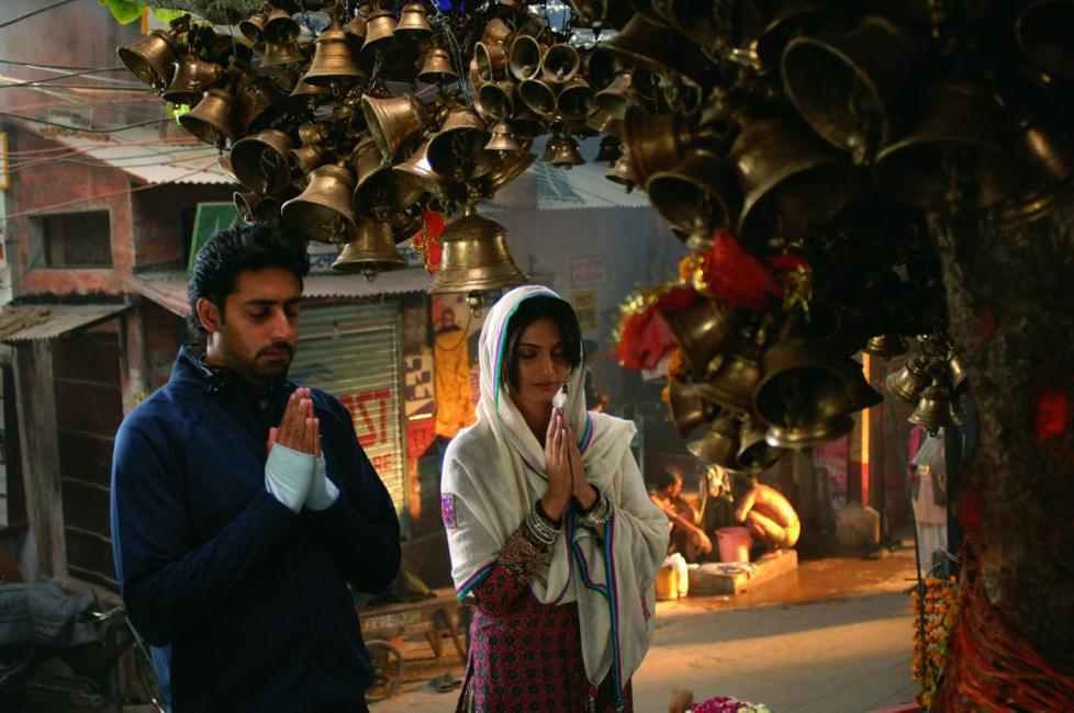 Abhishek Bachchan and Sonam Kapoor in