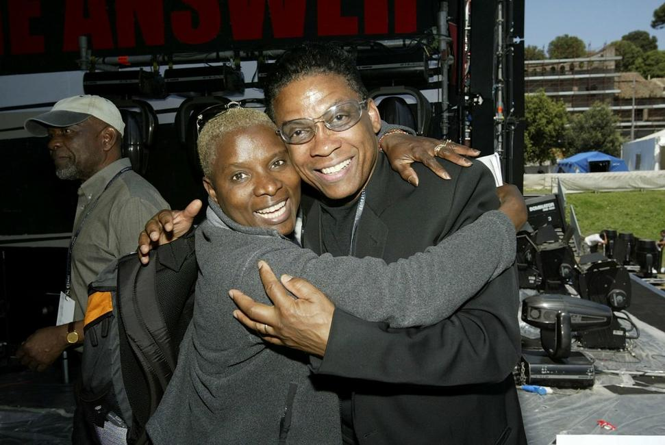 Angelique Kidjo and Herbie Hancock at the
