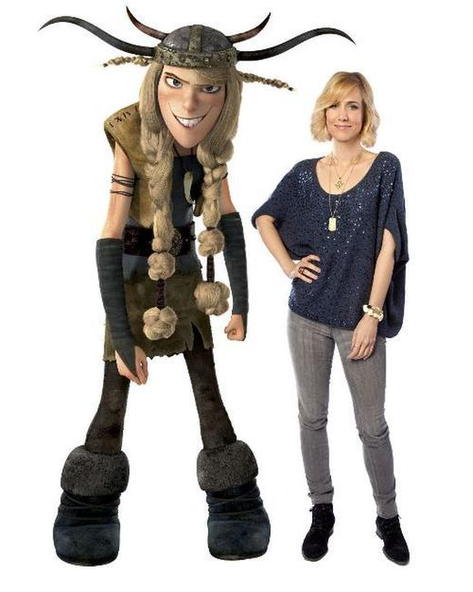 Kristen Wiig voices Ruffnut in