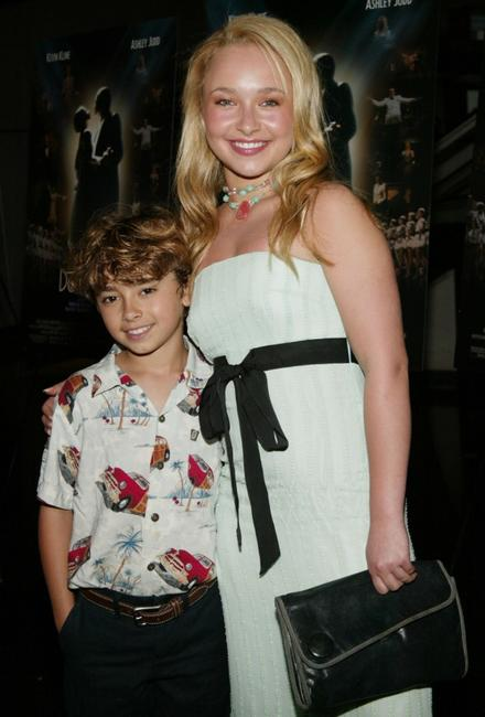 Jansen Panettiere and Hayden Panettiere at the New York premiere of