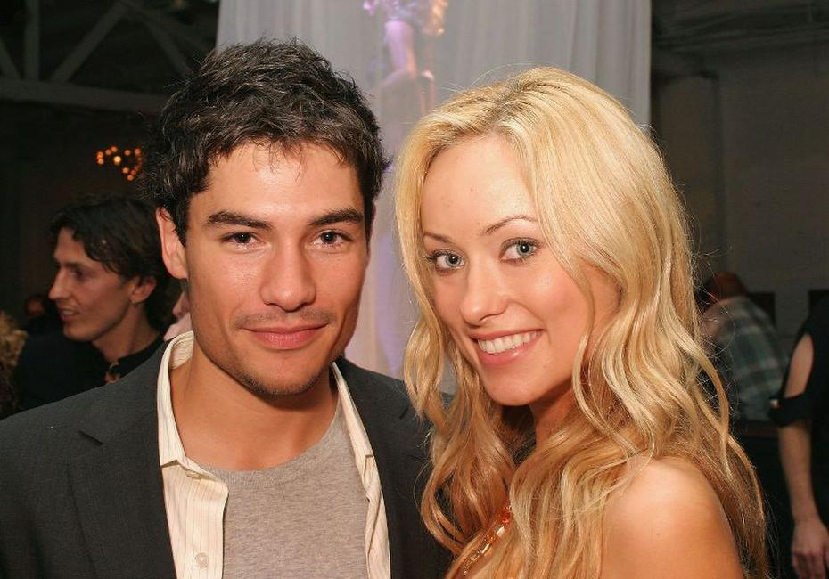 D.J. Cotrona and Olivia Wilde at the premiere of