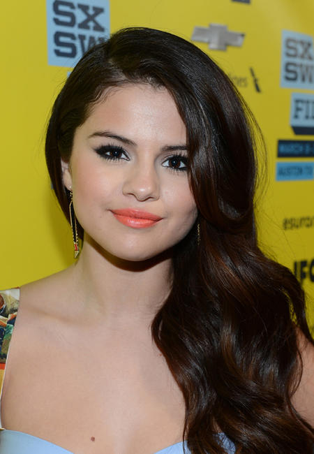 Selena Gomez at the premiere of