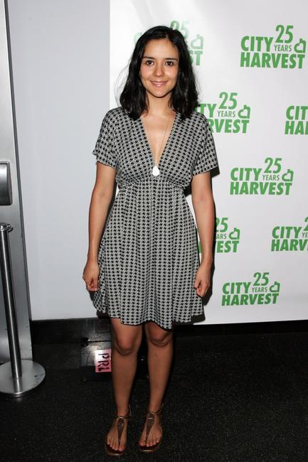 Catalina Sandino Moreno at the City Harvests Summer In The City benefit tasting dinner.