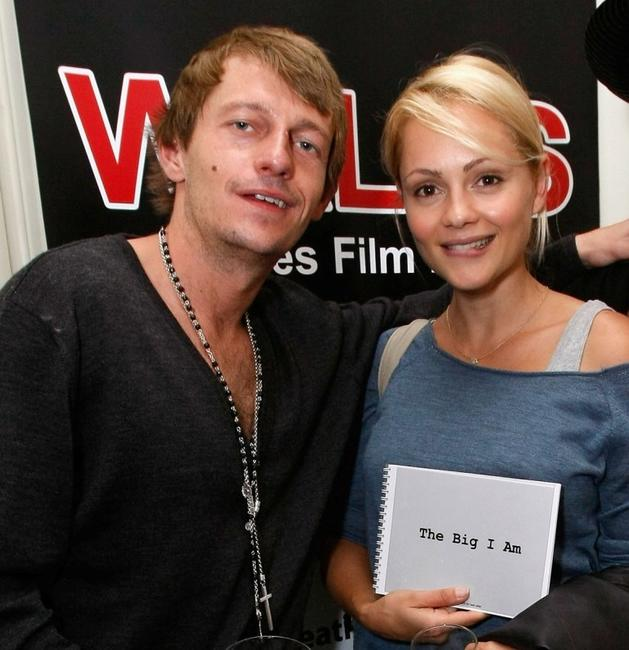 Leo Gregory and Beatrice Rosen at the Welsh Pavillion Party during the 61st International Cannes Film Festival.