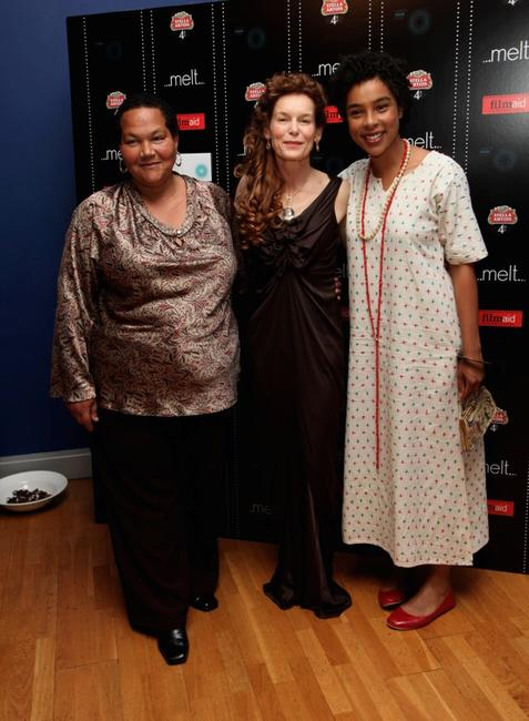 Sandra Laing, Alice Krige and Sophie Okenedo at the UK premiere of