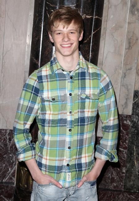 Lucas Till at the opening night of