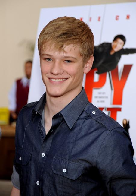 Lucas Till at the premiere of