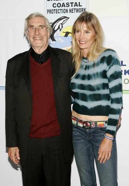Martin Landau and Gretchen Becker at the special screening of