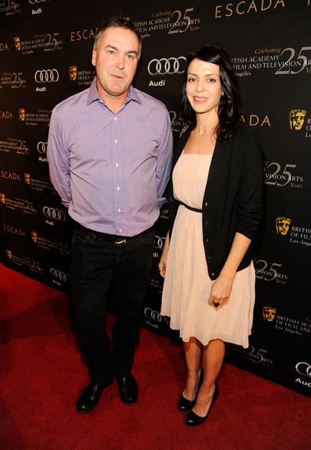 Director Chris Miller and Latifa Ouaou at the BAFTA Los Angeles' 18th annual Awards Season Tea party in California.