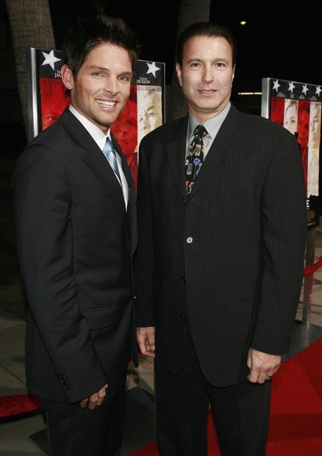 Brian Presley and Rick Sands at the World premiere of