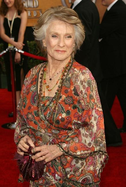Cloris Leachman at the 13th Annual Screen Actors Guild Awards.
