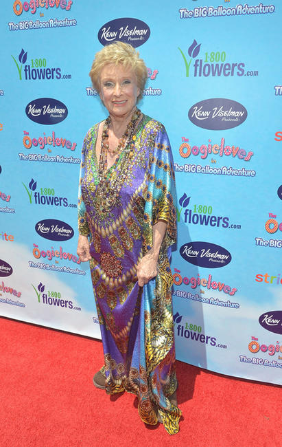 Cloris Leachman at the California premiere of