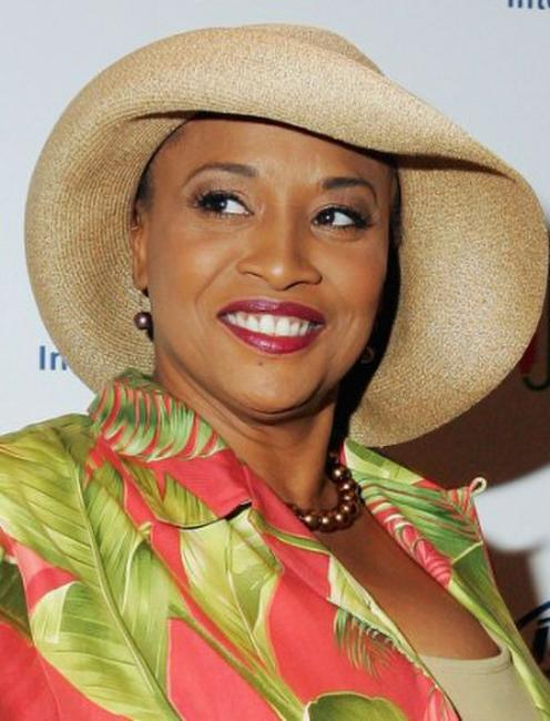 Jennifer Lewis at the Distinctive Assets Gift and Lounge during the taping of