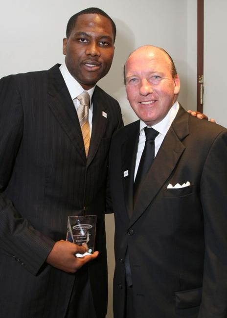 Elton Brand and Mike Dunleavy at the 22nd Annual Cedars-Sinai Sports Spectacular.