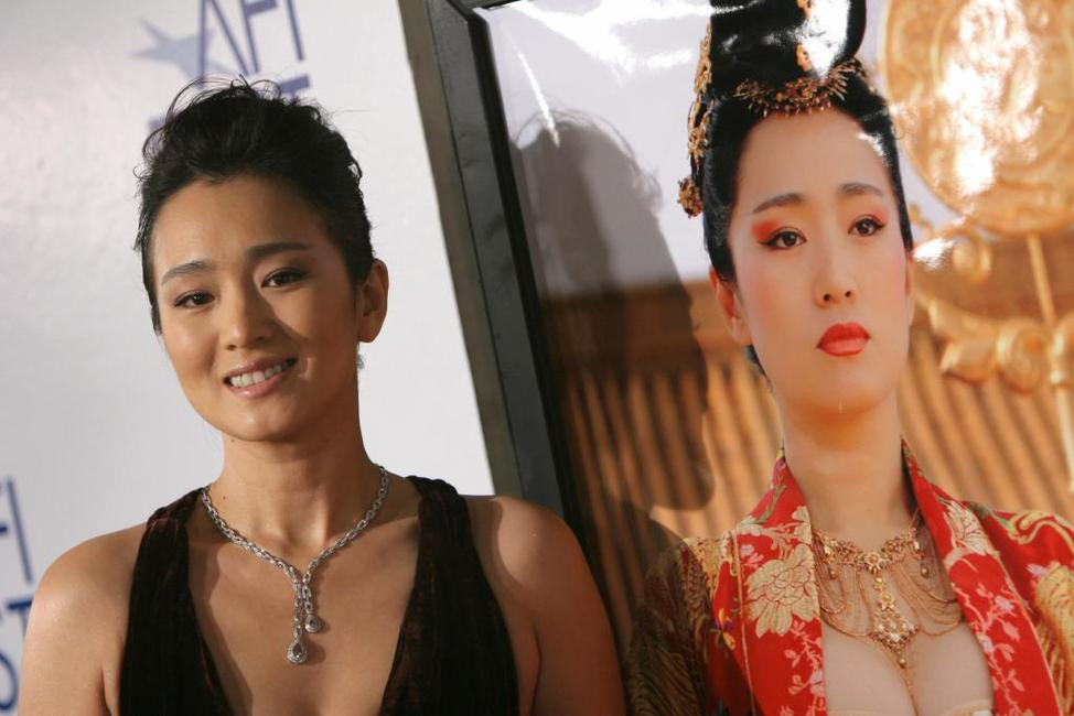 Gong Li at the AFI FEST 2006 for world premier of