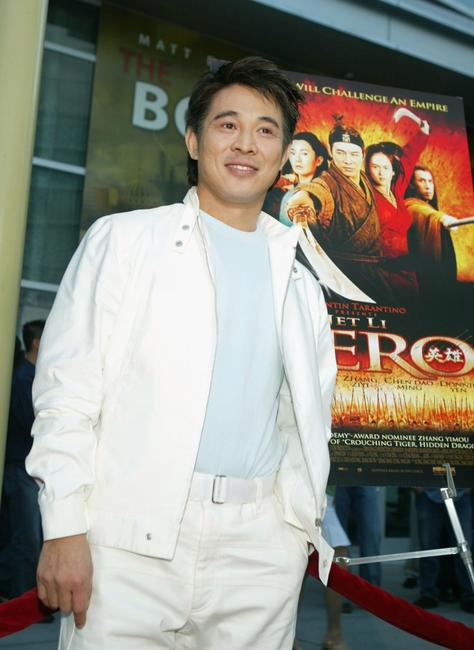 Jet Li at the premiere of