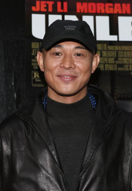 Jet Li at a N.Y. screening of