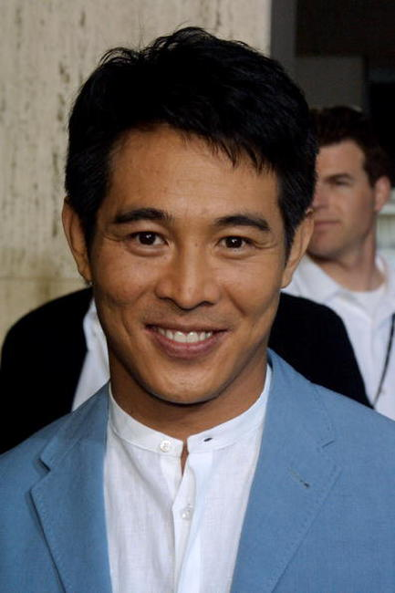 Jet Li at an L.A. screening of