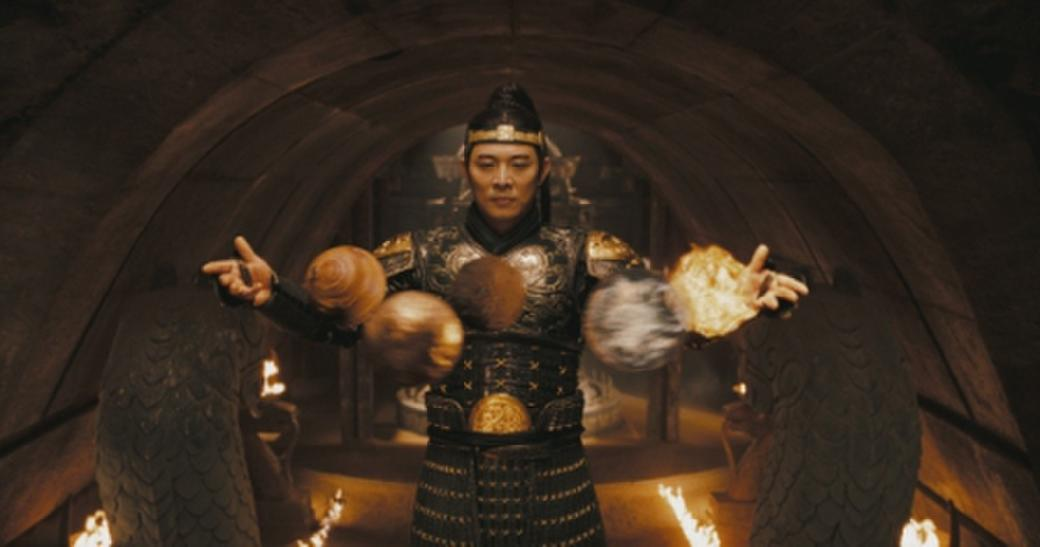 Jet Li as Emperor Han in