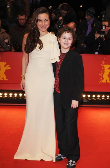 Kate del Castillo and Aidan Gould at the 58th Berlinale Film Festival.