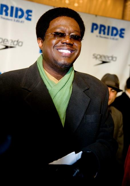 Bernie Mac at the special screening of