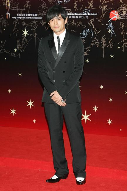 Jay Chou at the 26th Hong Kong Film Awards.