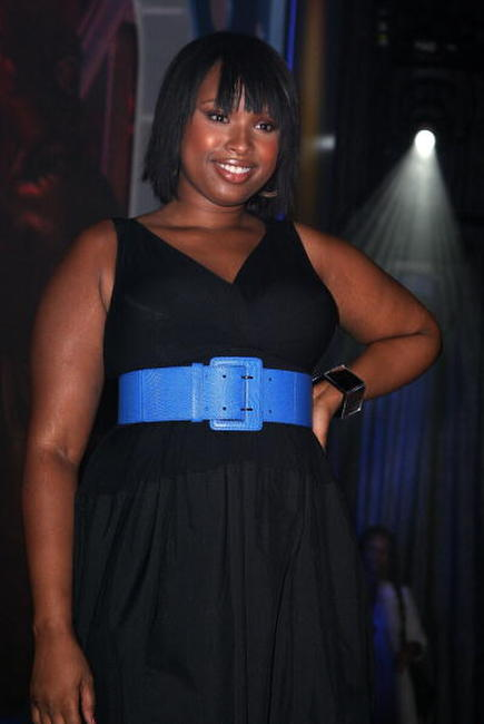 Jennifer Hudson at the taping of the 2,000th episode of