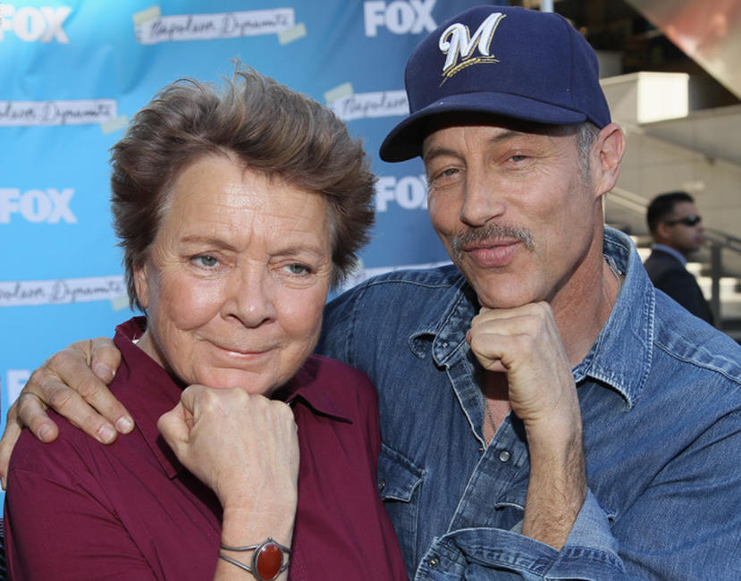 Sandy Martin and Jon Gries at the Fox's