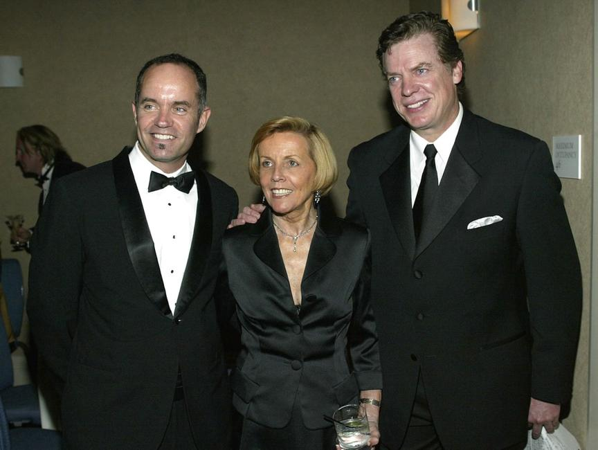 Christopher McDonald, Jonathan L. Williamson and Price Hicks at the Academy of Television Arts and Sciences Foundation 25th Annual College Television Awards Gala.